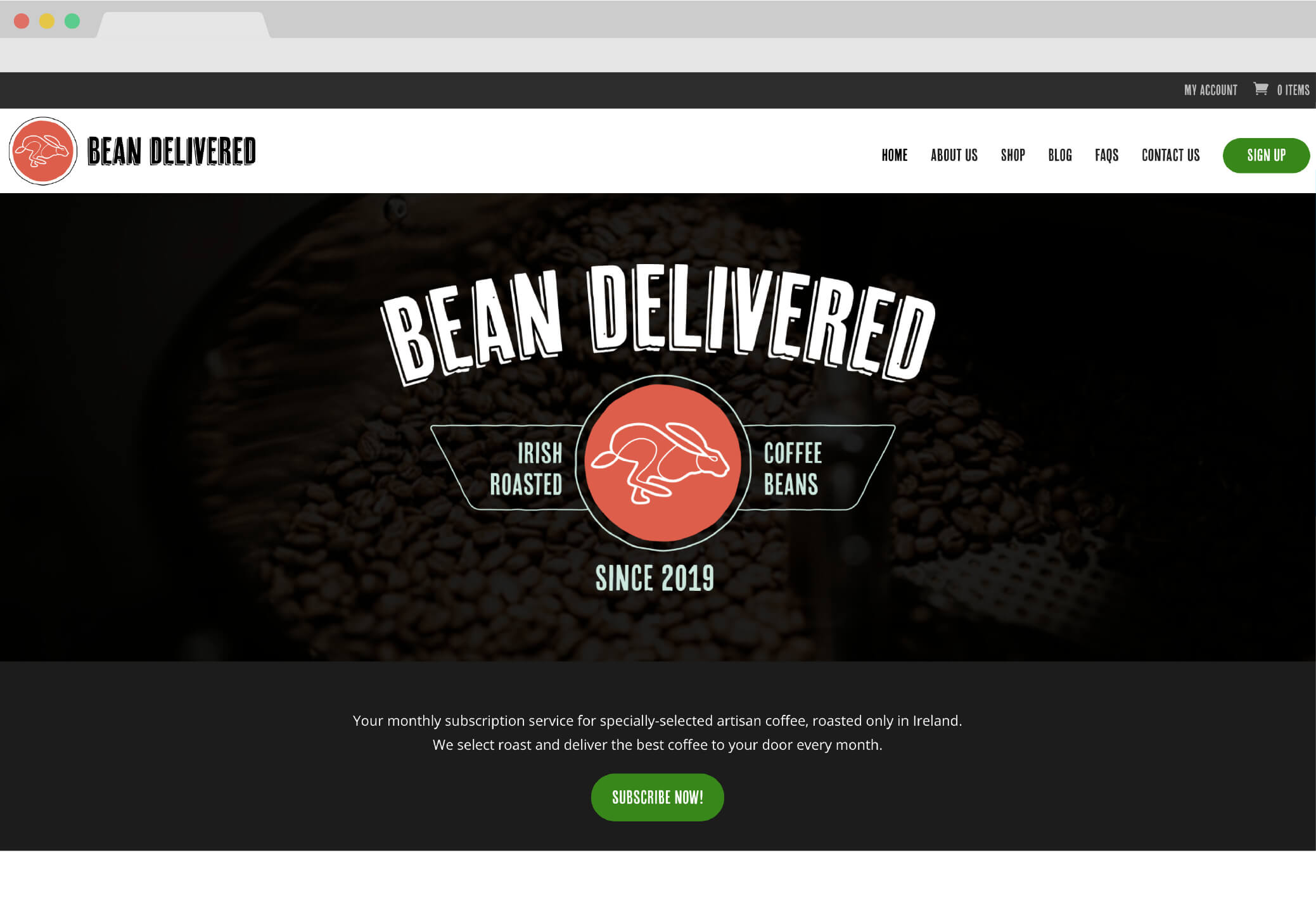 Bean Delivered Screen Grab